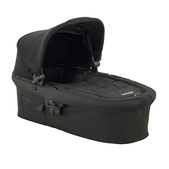 Larktale Carry Cot - Black - Coast