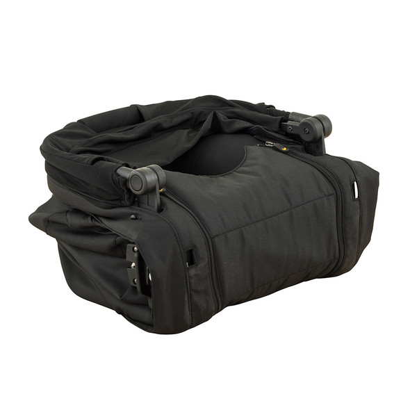 Larktale Carry Cot - Black - Coast