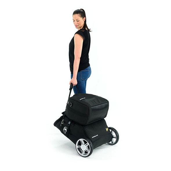 Larktale Carry Cot Travel Bag - Black - Coast