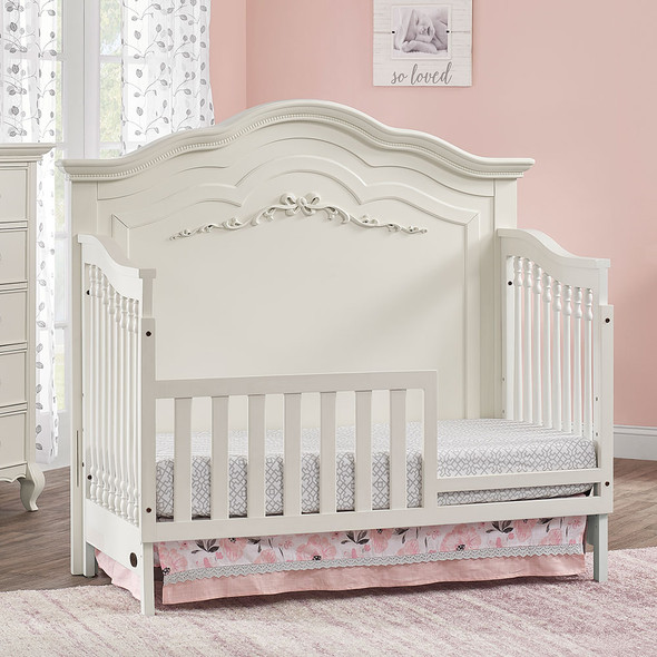 Oxford Baby Bella Toddler Guard Rail in Pearl White