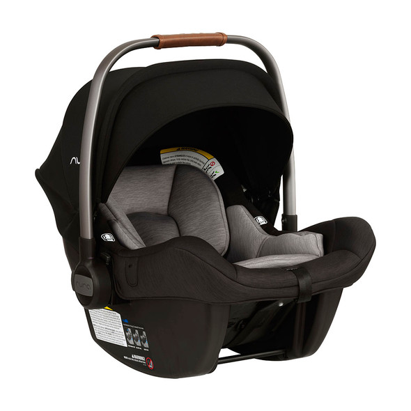Nuna PIPA Lite with Base Car Seat in Caviar