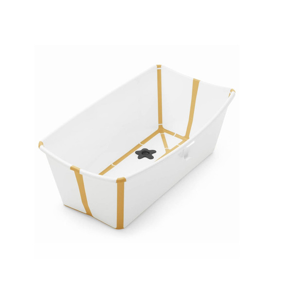 Stokke Flexi Bath Tub in White Yellow