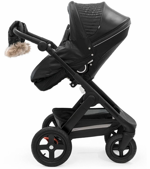Stokke Stroller Winter Kit in Onyx Black