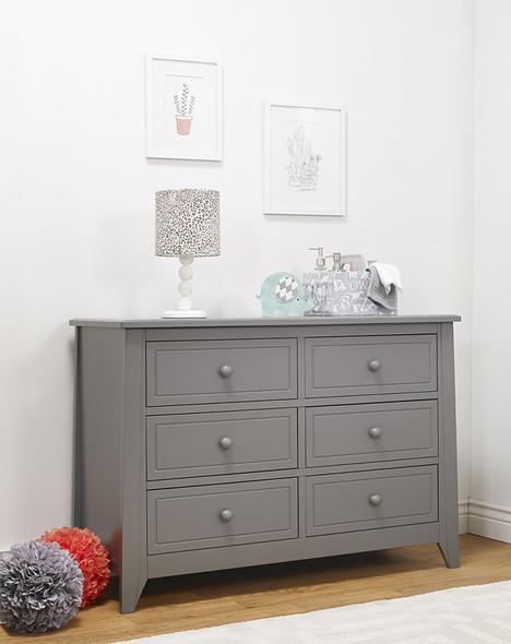 Sorelle Brittany Double Dresser in Grey