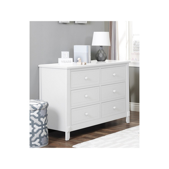 Sorelle Brittany Double Dresser in White