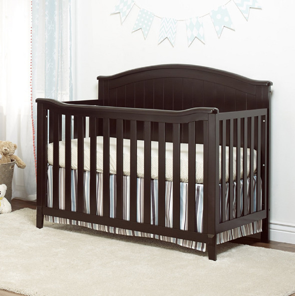 Sorelle Fairview 4 In 1 Crib in Espresso