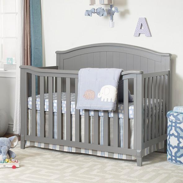 Sorelle Fairview 4 In 1 Crib in Grey