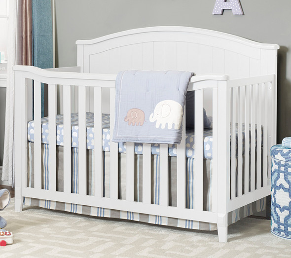 Sorelle Fairview 4 In 1 Crib in White