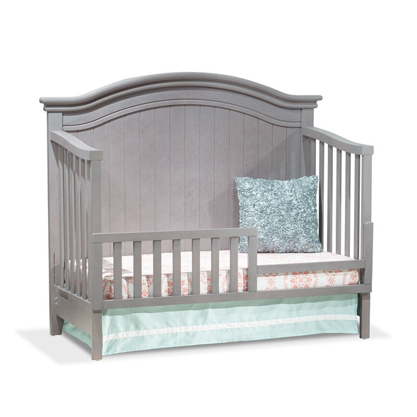 Sorelle Finley 4 in 1 Convertible Crib in Stone Grey