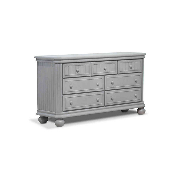 Sorelle Finley Double Dresser in Stone Grey