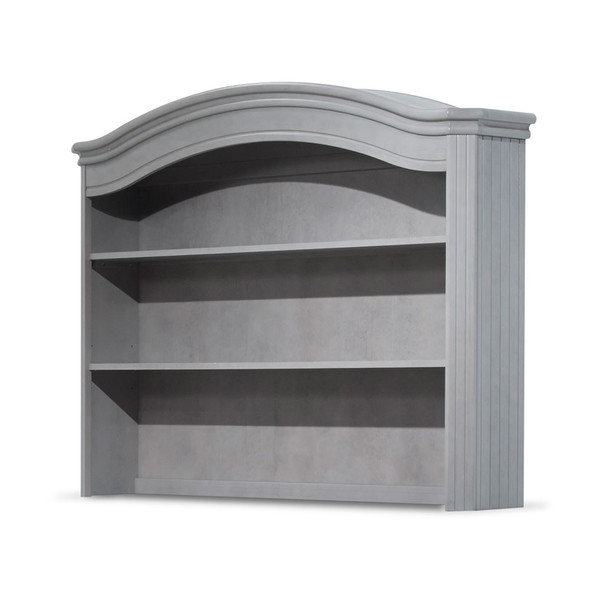 Sorelle Finley Hutch in Stone Grey