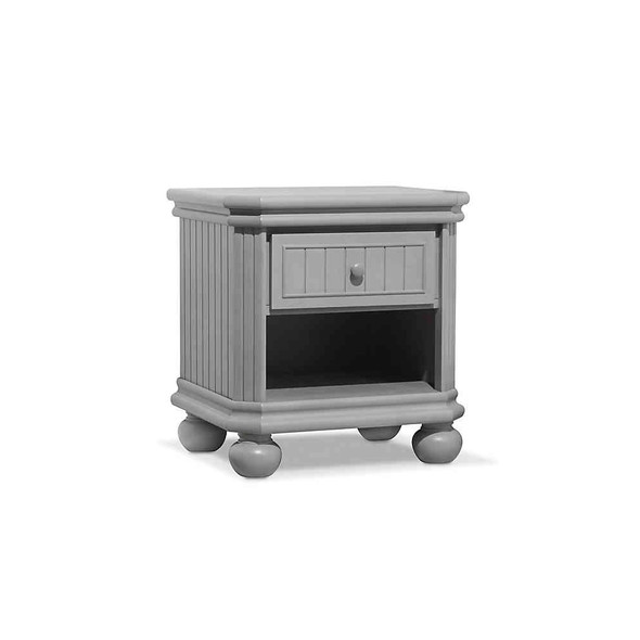 Sorelle Finley Nightstand in Stone Grey