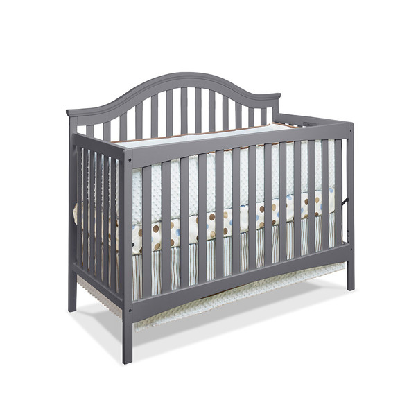 Sorelle Lynn 4 In 1 Crib in Grey