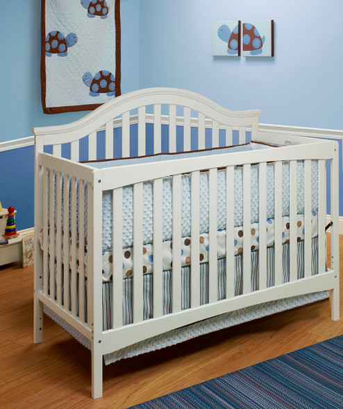Sorelle Lynn 4 In 1 Crib in White