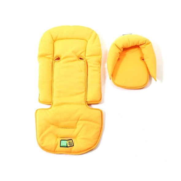 Valco All Sorts Seat Pads in Sunshine Yellow