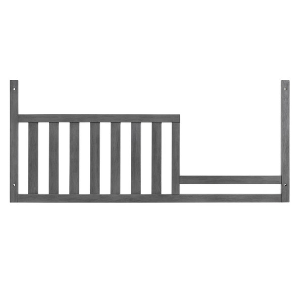 Oxford Baby Holland Guard Rail For 4 In1 Crib in Cloud Gray