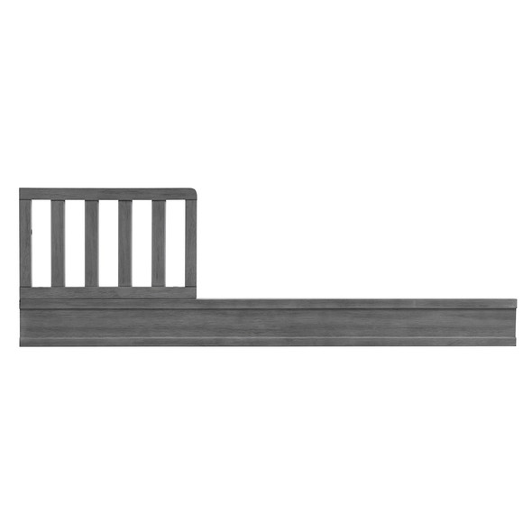 Oxford Baby Holland Guard Rail For 3 In 1 Crib in Cloud Gray