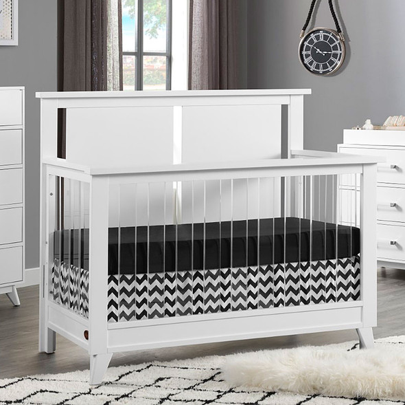 Oxford Baby Holland 4 In 1 Acrylic Convertible in Crib White