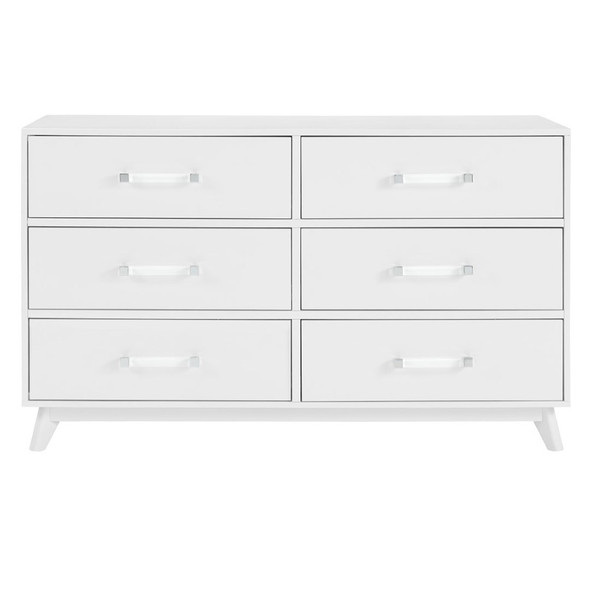Oxford Baby Holland 6 Dr Dresser in White