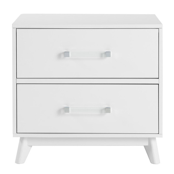Oxford Baby Holland Nightstand in White