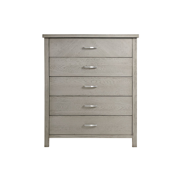 Oxford Baby Phoenix 5 Drawer Chest in Weathered Oak