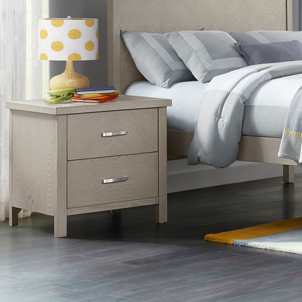 Oxford Baby Phoenix Nightstand in Weathered Oak