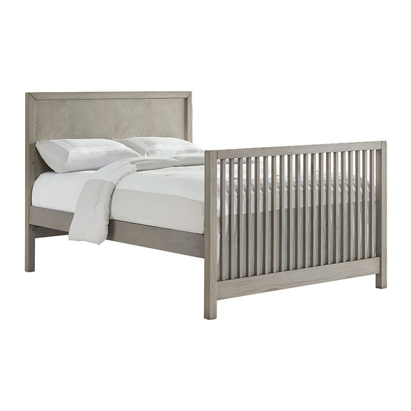 Oxford Baby Phoenix Full Bed Conversion Kit in Weathered Oak