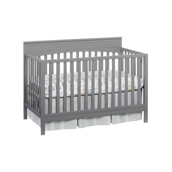 Oxford Baby Harper 4 In 1 Convertible Crib in Dove Gray