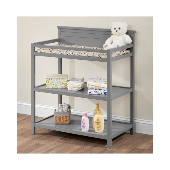 Oxford Baby Harper Changing Station in Dove Gray