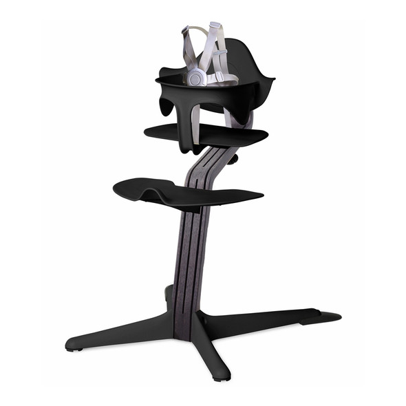 Nomi Highchair Black in Black Oak