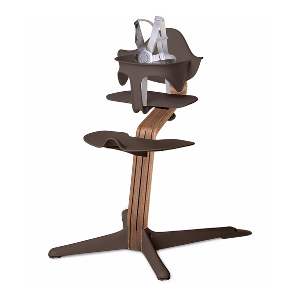 Nomi Highchair Coffee in Walnut