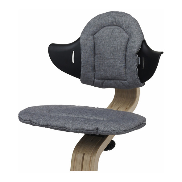 Nomi Highchair Cushion in Gray