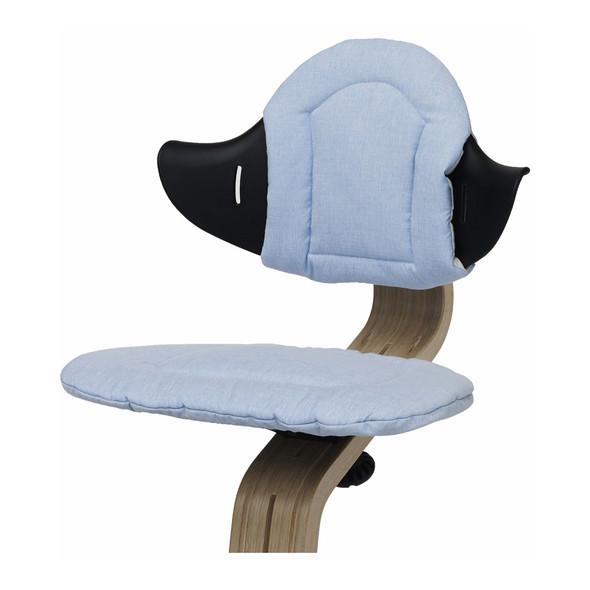 Nomi Highchair Cushion in Blue