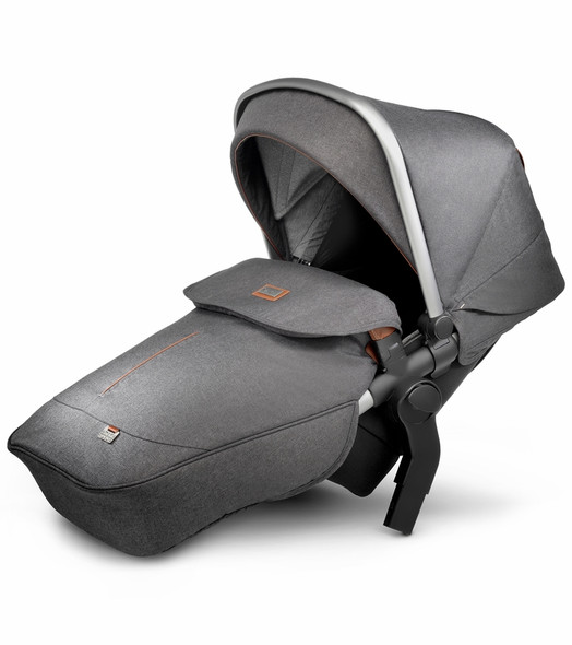 Silver Cross Wave Stroller Tandem Seat in Granite