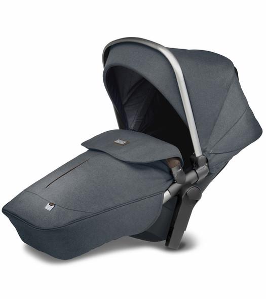 Silver Cross Wave Stroller Tandem Seat in Slate