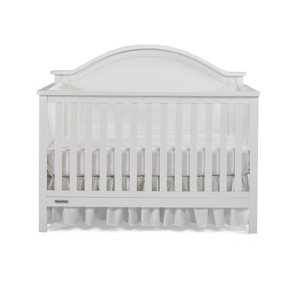 Fisher Price Liam Convertible Crib in Snow White