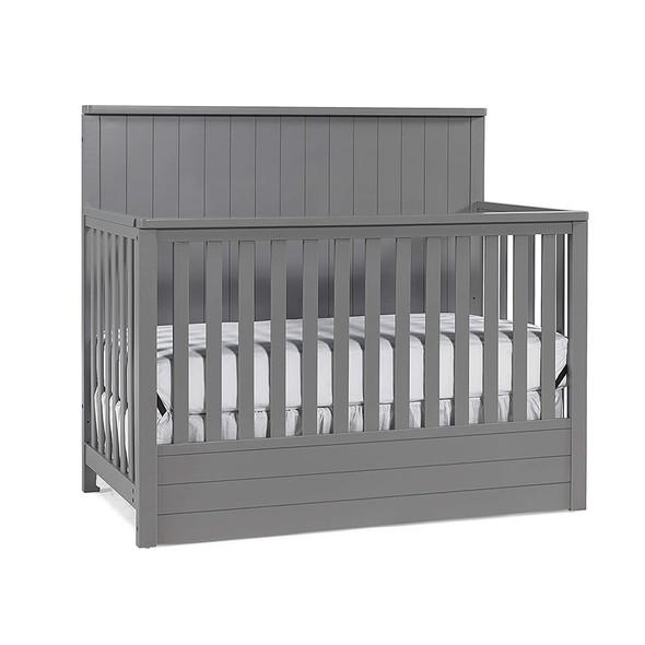 Ti Amo Bradlee Convertible Crib in Stormy Grey