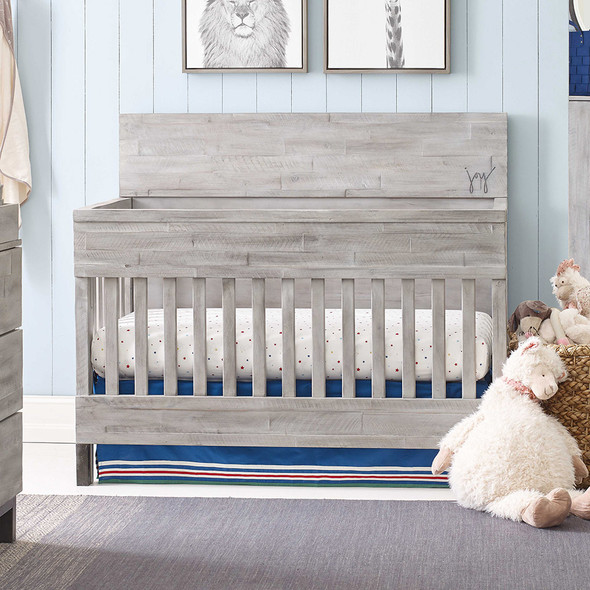 ED Ellen DeGeneres Greystone Collection Convertible Crib in Weathered Barnwood
