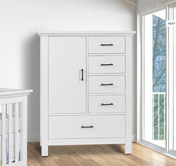 Pali Como Door Chest Chifferobe in Vintage White