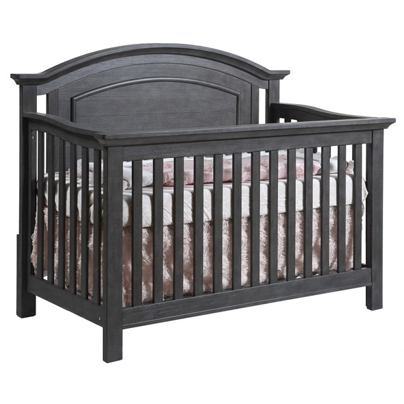 Pali Como 3 Piece Nursery Set - Arch Crib in Distressed Granite