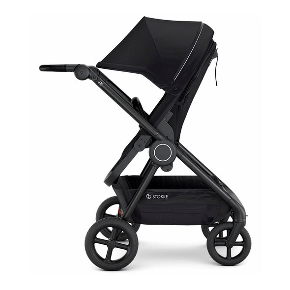 Stokke Beat Compact Urban Stroller in Black