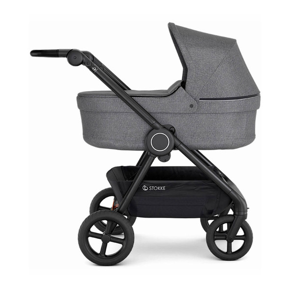 Stokke Beat Carry Cot in Black Melange