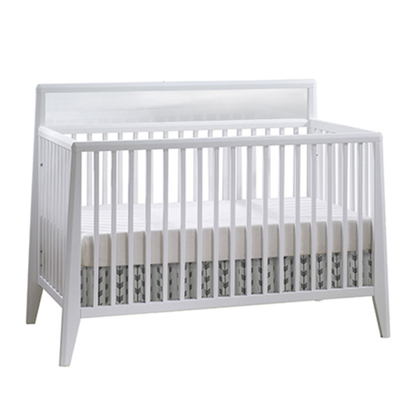 Natart Flexx Convertible Crib in White