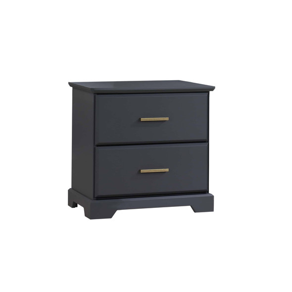 Natart Taylor Nightstand in Graphite
