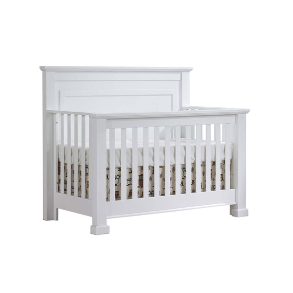 Natart Taylor Convertible Crib to Double in White