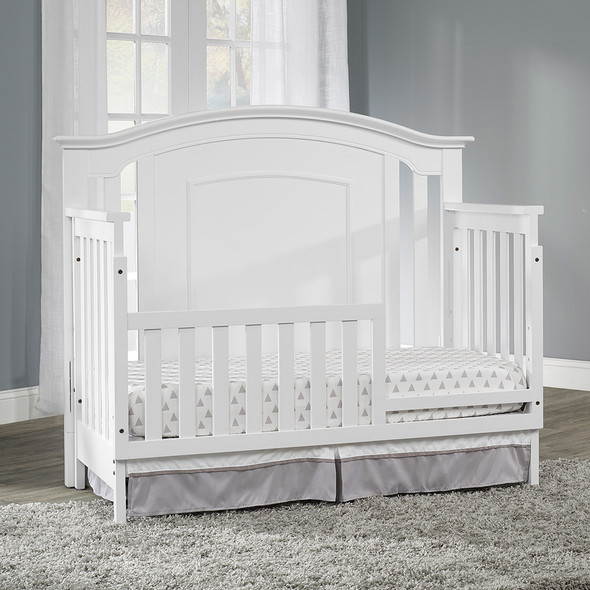 Oxford Baby Willowbrook 4 In 1 Convertible Crib in White