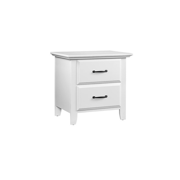 Oxford Baby Willowbrook 2 Dr Nightstand in White