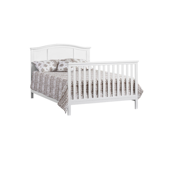Oxford Baby Emerson Full Bed Conversion Kit in Snow White