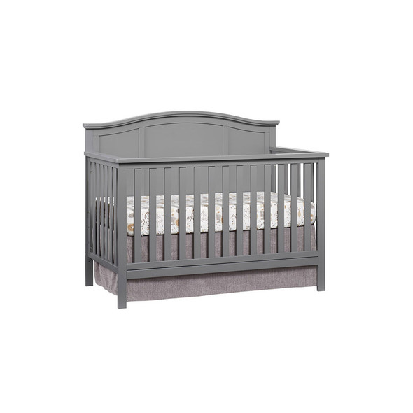 Oxford Baby Emerson 4 In 1 Convertible Crib in Dove Gray