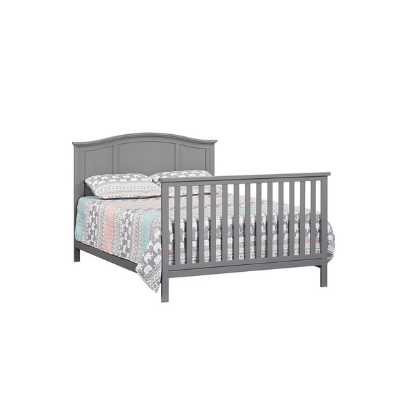 Oxford Baby Emerson Full Bed Conversion Kit in Dove Gray